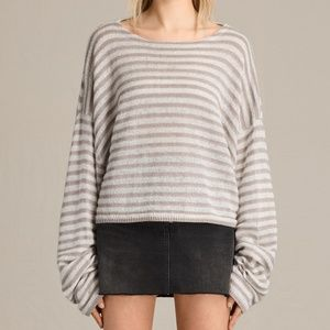 Nordstrom All Saints Casso Cropped Jumper Sweater